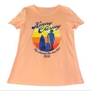 Kenny Chesney Crewneck Band Tee Shirt Size M